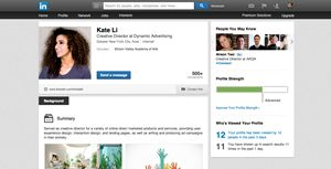 Get a professional LinkedIn Profile from our CV service